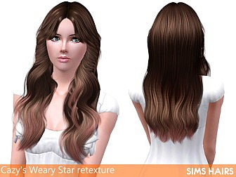 Cazy-Weary-Star-retextured-by-Sims-Hairs-1