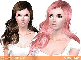 Newsea-166-Nikita-hairstyle-retexture-by-Sims-Hairs-1