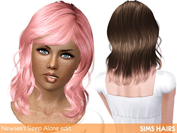 Newseas J187 Sleep Alone edited and male enabled by Sims Hairs for Sims 3