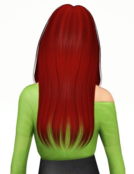Nightcrawler F16 hairstyle retextured by Pocket for Sims 3