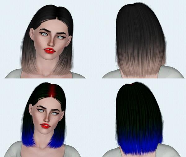 Zauma Dara and Nightcrawler 11 hairstyles Rextextured by Electra for Sims 3