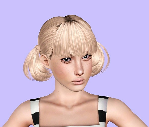 Butterflysims and Skysims hairstyle reetxtured by Plumb Bombs for Sims 3