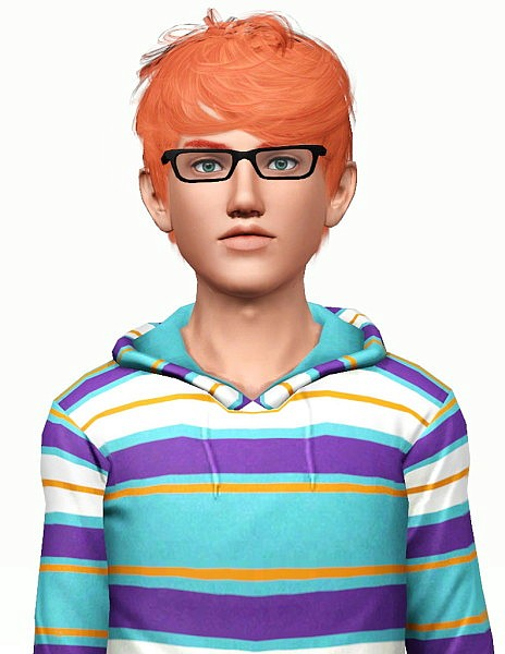 Cazy`s Per Sempre hairstyle retextured by Pocket for Sims 3