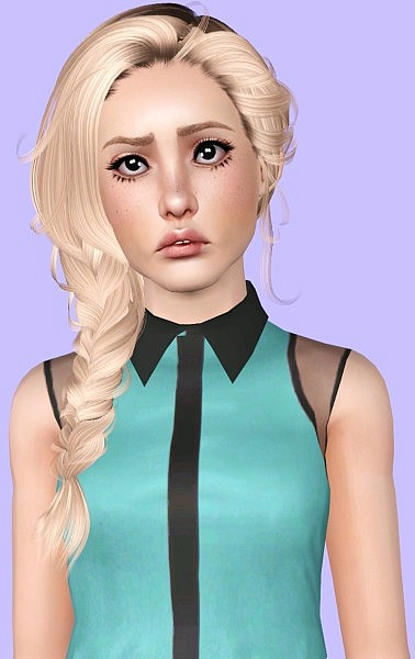 Newsea`s Erena hairstyle retextured by Plumb Bombs for Sims 3