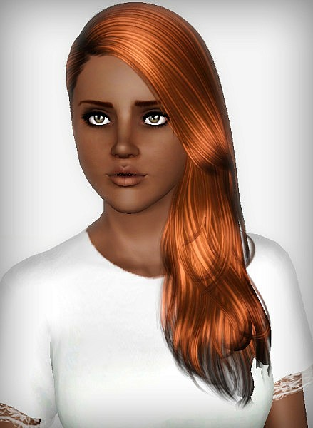 Cazy`s 136 Last Call hairstyle retextured by Forever and Always for Sims 3