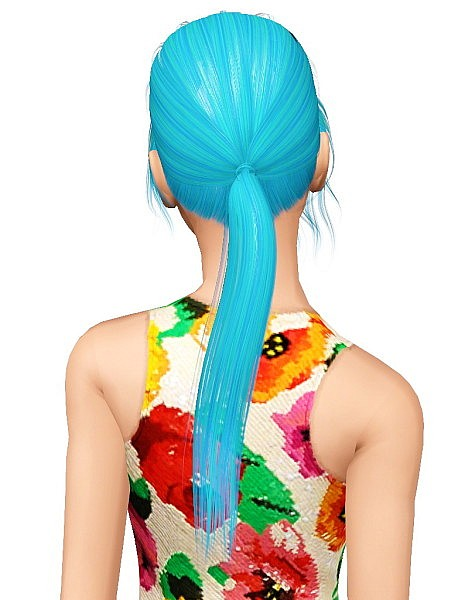 Alesso`s Spring hairstyle retextured by Pocket for Sims 3