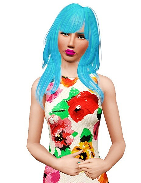 Alesso`s Sand hairstyle retextured by Pocket for Sims 3