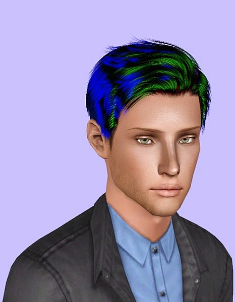 Lapiz Lazuli Zombrex hairstyle retextured by Plumb Bombs for Sims 3