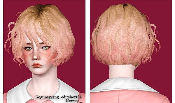 7 new hairstyle retextured by June for Sims 3