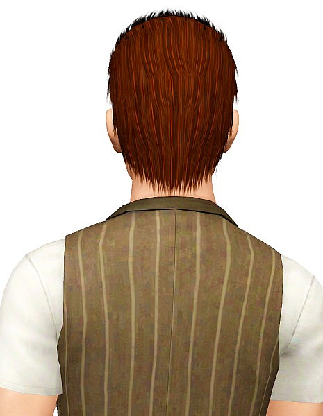 Lapiz Blue hairstyle retextured by Pocket for Sims 3