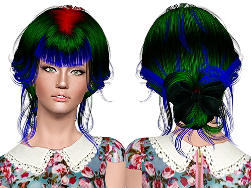 Newsea`s Aeolian Bell hairstyle retextured by Chantel for Sims 3