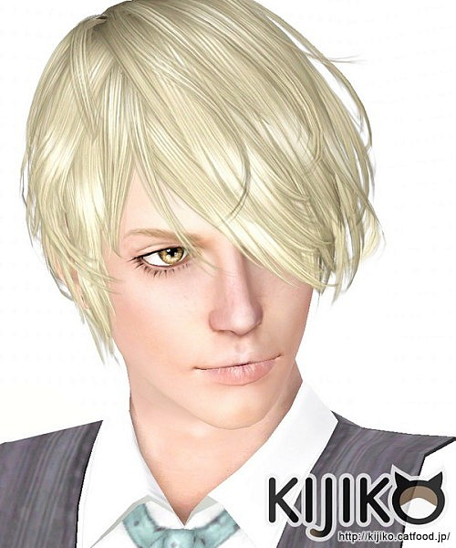 Verte hairstyle for him by Kijiko for Sims 3