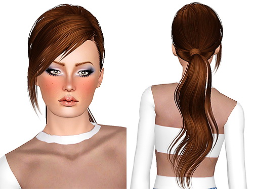 Skysims 208 hairstyle retextured by Chantel for Sims 3