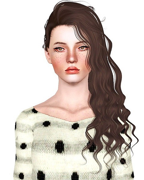 Alesso`s Dreams hairstyle retextured by Bombsy for Sims 3