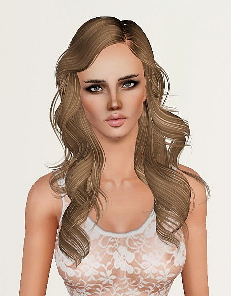Skysims 187 and 188 hairtstyles retextured by Monolith for Sims 3