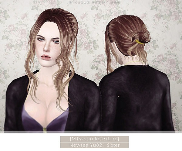More hairstyles retextured by Duo for Sims 3