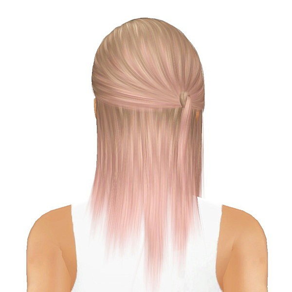 Cazy's Skyle hairstyle retextured by July Kapo for Sims 3