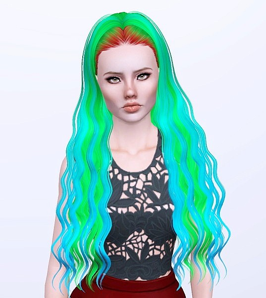 Skysims 202 hairstyle retextured by Monolith for Sims 3