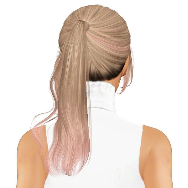 Cazy`s Unofficial hairstyle retextured by July Kapo for Sims 3