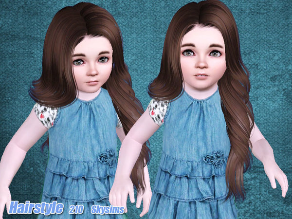 Rose Hairstyle 210 by Skysims for Sims 3
