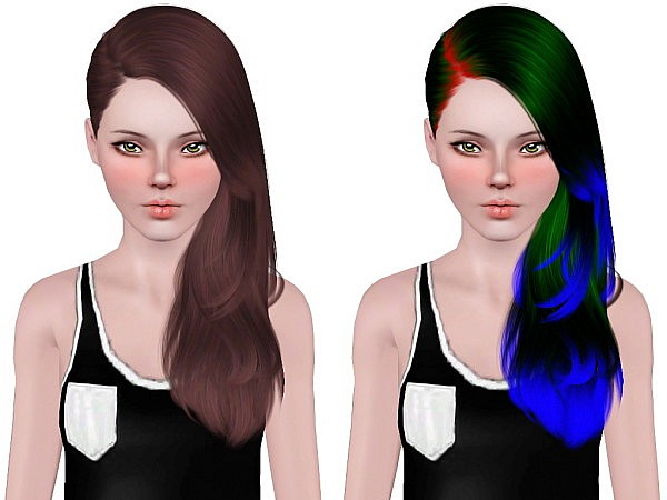 Cazy`s Last Call hairstyle retextured by Neiuro for Sims 3