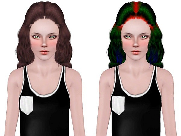 Alesso`s Spectrum hairstyle retextured by Neiuro for Sims 3