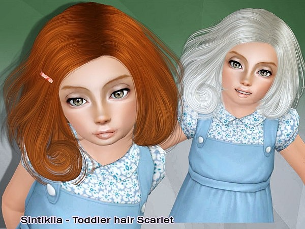 Scarlet hairstyle by Sintiklia for Sims 3