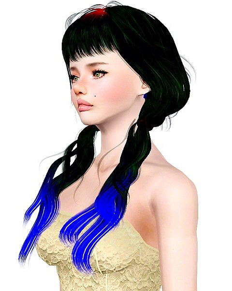 Newsea`s Seasame hairstyle retextured by Bombsy for Sims 3