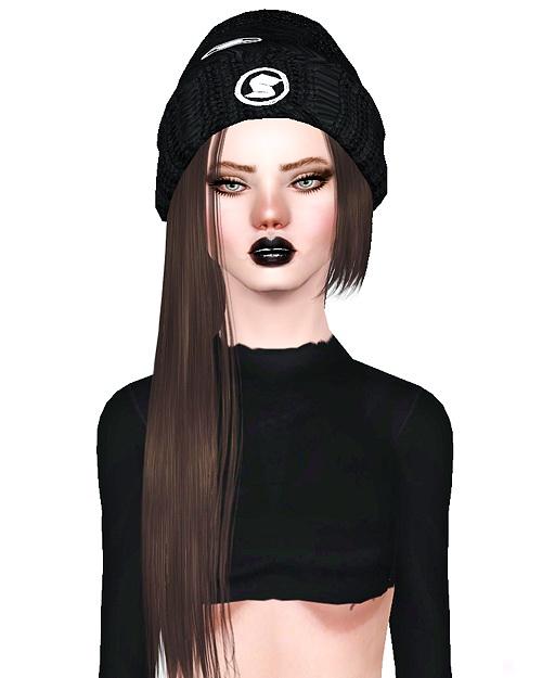 Zauma`s Crush hairstyle retextured by Bombsy for Sims 3
