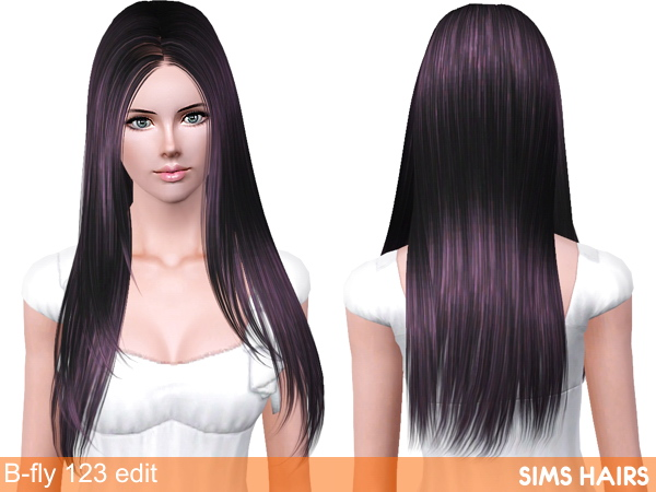 B Fly Sims B-fly Sims 123 AF hairstyle