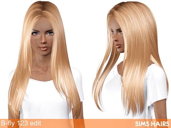 B Fly Sims Butterfly Sims 123 hairstyle