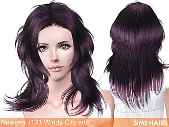 Newsea-J131-Windy-City-hairstyle-retexture-by-Sims-Hairs-1
