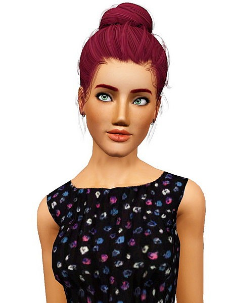 Newsea`s Sakura hairstyle retextured by Pocket for Sims 3