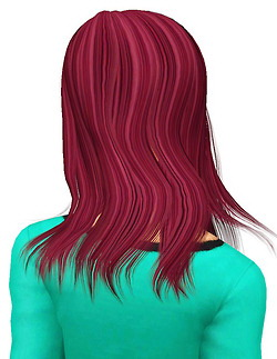 Newsea`s Amanda hairstyle retextured by Pocket for Sims 3