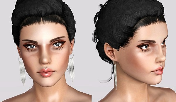 New Hairstyle Retextures + Hairline Blush by White Crow for Sims 3