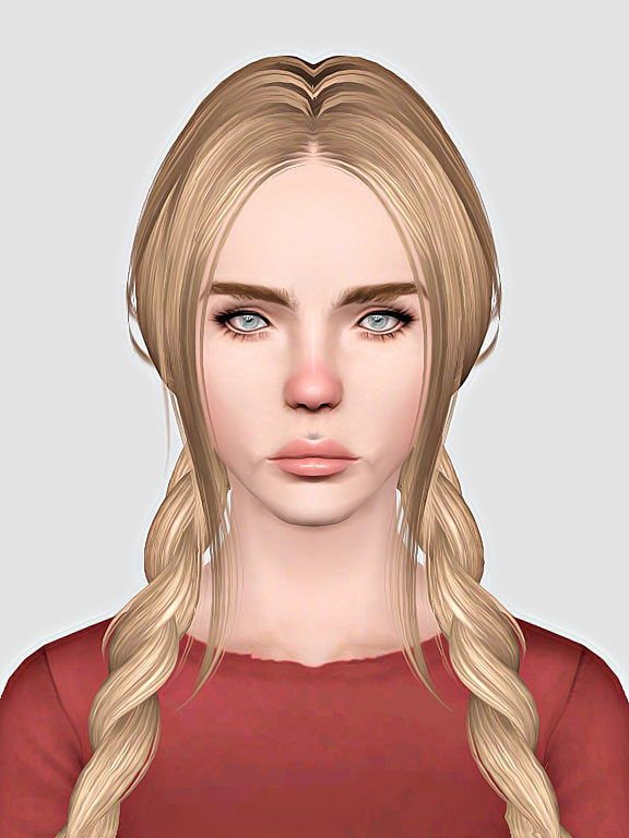 Skysims 211 hairstyle retextured by Sweet Sugar for Sims 3