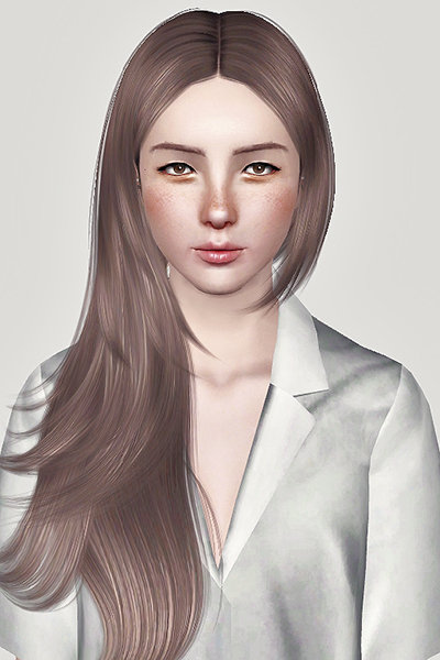 Cazy Rochelle hairstyle retextured by Sweetsugar for Sims 3