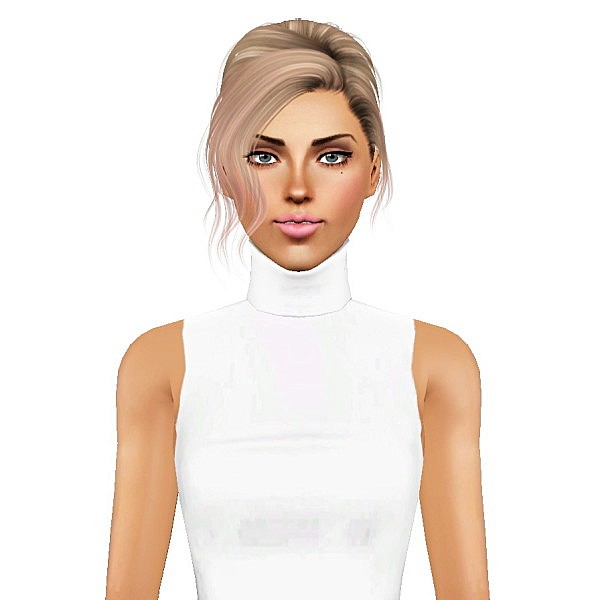 Alesso`s Spring hairstyle retextured by July Kapo for Sims 3