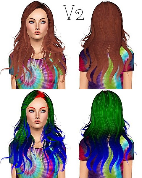 Newsea`s Cameron hairstyle retextured by Chantel Sims for Sims 3
