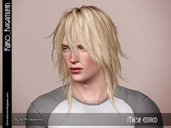 Kijiko Ragamuffin resized for male for Sims 3