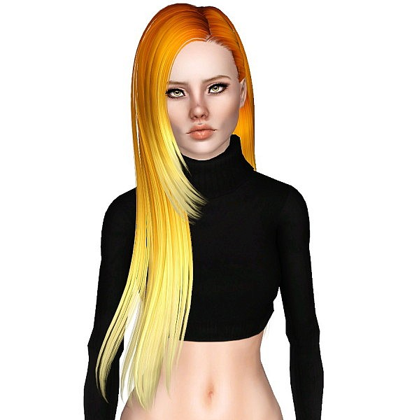 Bfly 145  hairstyle retextured by Monolith for Sims 3