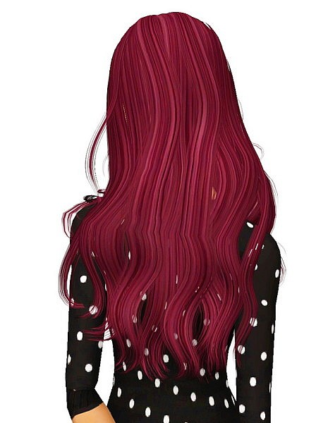 NewSea`s Color of Wind hairstyle retextured by Pocket for Sims 3