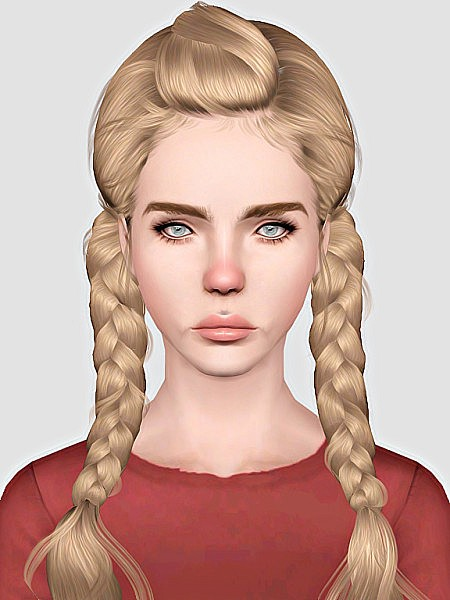 Newsea`s Weed Flower hairstyle retextured by Sweet Sugar for Sims 3