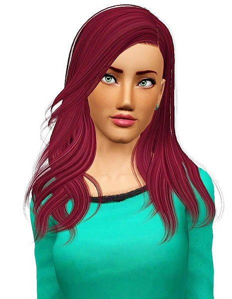 Newsea`s Shaine  hairstyle retextured by Pocket for Sims 3