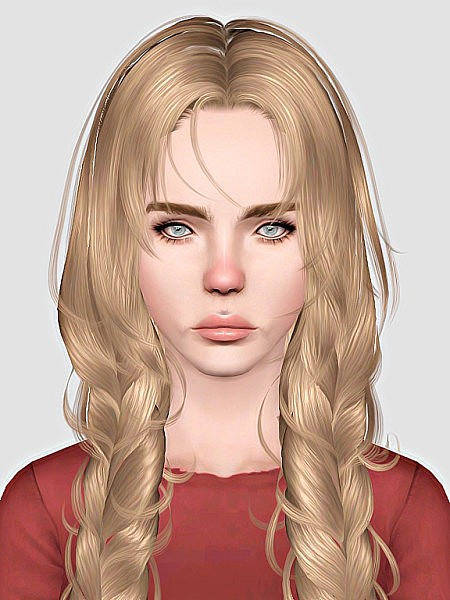 Newsea`s Cloris hairstyle retextured by Sweet Sugar for Sims 3