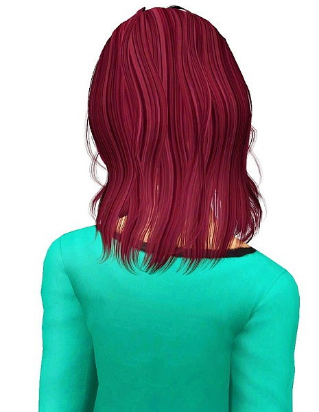Newsea`s Sleep Alone hairstyle retextured by Pocket for Sims 3