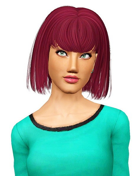 Newsea`s Naima hairstyle retextured by Pocket for Sims 3