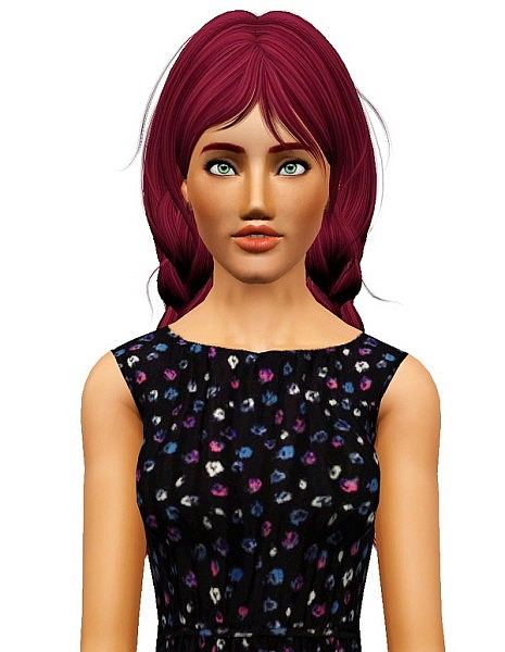 Newsea's Old School hairstyle retextured by Pocket for Sims 3