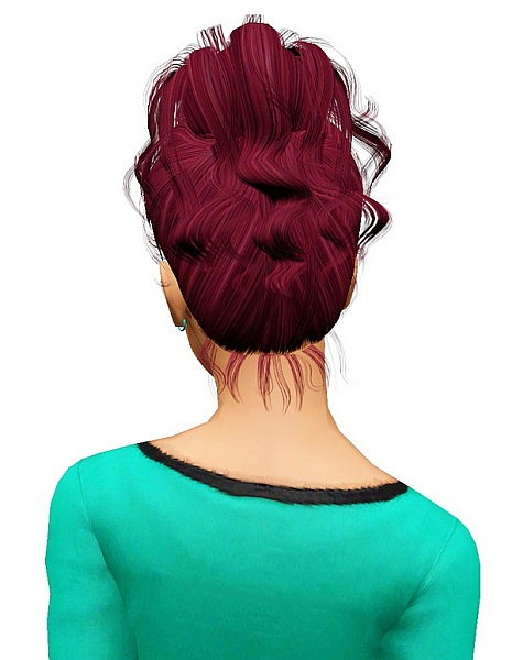 Newsea`s Rachel hairstyle retextured by Pocket for Sims 3