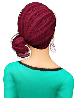 Newsea`s Roll Cake hairstyle retextured by Pocket for Sims 3